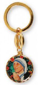 Key Ring Mother Teresa. Saint Teresa Of Calcutta, Mother Teresa, Key Rings, Mother Gifts, Key Fobs