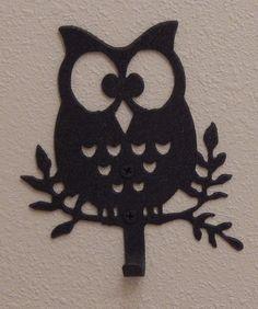 Metal Owl Wall Decor owl key holder,owl wall decor,key rack,owl wall hook,key hook,owl