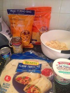 Wishes do come true...: Chicken Fajitas (frozen meals) Aldi meals Aldi meal planner