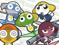 Sgt. Frog. One the first animes that I watched.