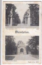 Oxfordshire; Blenheim, Hensington Gate & Triumphal Arch PPC 1909 Oxford PMK