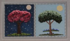 BB Needlepoint Designs BB 99 Night and Day Stitch guide available