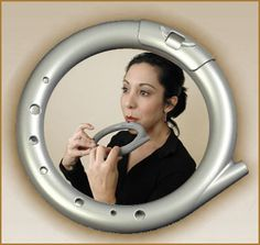 WHAT THE HECK -> RingFlute, Ring Flute, circular musical flute musical instrument