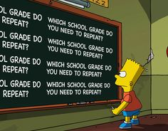 Which School Grade Do You Need To Repeat?  Quiz