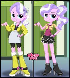 Next Monday @ StarSue.Net : My Little Pony Equestria Girls Diamond Tiara Dress Up Game! ^_^ [13 Oct. 2014]