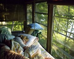 The most perfect sleeping place ever. I NEED this.