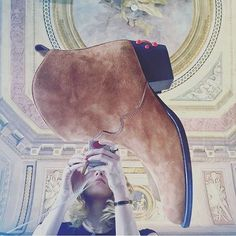 aquazzura: Good morning from our Florence HQ with who admires art and our 'Cowboy bootie. Aquazzura, Florence, Good Morning, Booty, Shoe Bag, Instagram, Art, Buen Dia, Art Background