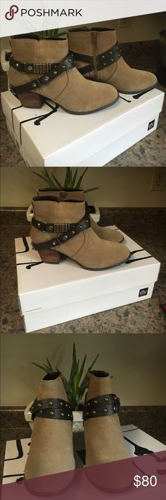 Dolce Vita Booties These Adorable Beauties are brand new and have never been worn! Perfect to spice up a dress or even jeans. Dolce Vita Shoes Ankle Boots & Booties