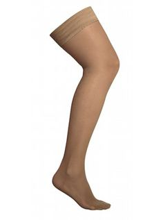 Compression stockings AGH - Stay Up, Class 2, nature 140 D
