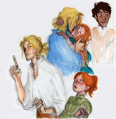 oh, i do. but i say i don't : some Howl and Sophie sketches from the book. They...