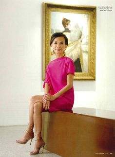 Josie Natori - Filipina international fashion designer focused on lingerie, sleepwear, loungewear, underwear and other high-end women's fashion.
