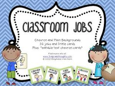 class jobs love the clip art and the different types of jobs available