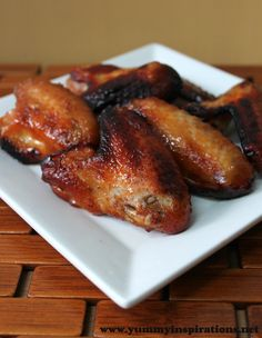 Honey Roasted Chicken Wings