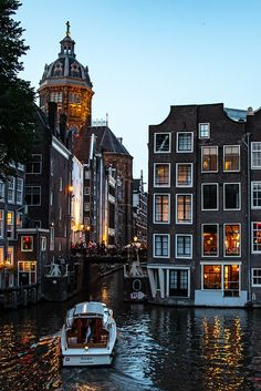 All things Europe — Amsterdam, Netherlands (by Robert Ovenden) Living In Amsterdam, Amsterdam Travel, Amsterdam City, Amsterdam Canals, Amsterdam Netherlands, Places To Travel, Places To See, Travel Destinations, City Aesthetic