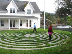 Orcas Island, WA Garden Path, Garden Ideas, Labyrinth Walk, Labrynth, Orcas Island, Meditation Center, Washington Usa, Front Fence, San Juan Islands