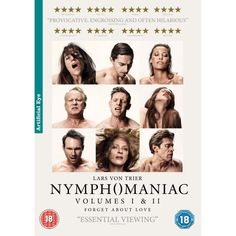 http://ift.tt/2dNUwca | Nymphomaniac DVD | #Movies #film #trailers #blu-ray #dvd #tv #Comedy #Action #Adventure #Classics online movies watch movies  tv shows Science Fiction Kids & Family Mystery Thrillers #Romance film review movie reviews movies reviews