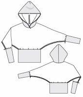 EL BAÚL DE LAS COSTURERAS: Suéter con Capucha
