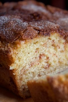 The Amazing Amish Cinnamon Bread. No kneading, you just mix it up and bake it! 13 Desserts, Delicious Desserts, Dessert Recipes, Yummy Food, Brunch Recipes, Cookie Recipes, Breakfast Recipes, Dinner Recipes, Bread Alternatives