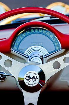 1957 Chevrolet Corvette Dash