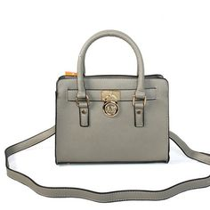 Welcome To Our Michael Kors Hamilton Traveler Small Grey Satchels Online Store