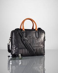 Ralph Lauren - Quilted Calfskin Briefcase