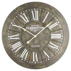 Yosemite Big Iron Wall Clock