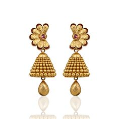 Jhumka Designs, Neue Trends, Drop Earrings, Gold, Jewelry, Fashion, New Fashion, Stocking Stuffers, Cordial