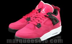 cheaper b1a77 24812 Nice Kicks - Air Jordan 4 GS Voltage Cherry Pink Jordans, New Jordans Shoes,