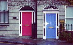 The Doors of Dublin, Ireland