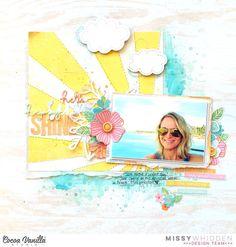 Little Nugget Creations: Hello Sunshine / Cocoa Vanilla Studio