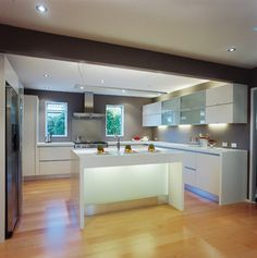 Kitchen modern classic - modern - Kitchen - Los Angeles - Mal Corboy Design and Cabinets