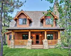 2 Bed Rustic Retreat (Or Three)... - 11549KN | 1st Floor Master Suite, CAD Available, Cottage, Country, Den-Office-Library-Study, Log, Mountain, Narrow Lot, PDF, Photo Gallery, Vacation | Architectural Designs