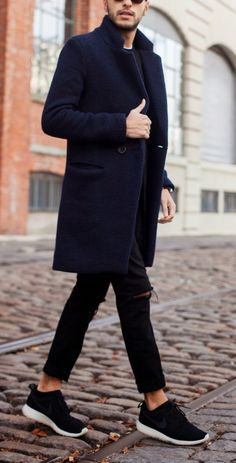 Men's Winter Guide - Overcoat Is A Must Have In Your Winter Wardrobe