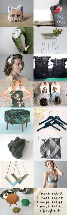 I must resist, I must resist, I must resist... by Valeria  Fittipaldi on Etsy--Pinned with TreasuryPin.com