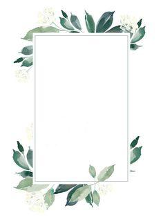 leaf wreath frame