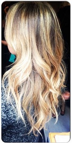 hair makeover - blonde highlights 2013 multidimensional blonde-keeps hair natural looking and not bleached - by ja5hu8