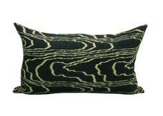 Kelly Wearstler Agate pillow cover in Ebony/Beige- 12 x 20. $60.00, via Etsy.