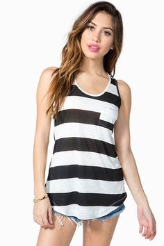 Essential Stripe Tank