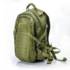 78e4f6af61f Military Tactical MOLLE Backpack Daypack 25L in Black Green and Khaki