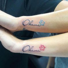 Cool ideas for a friendship workshop - symbols and motifs for eternity - Tattoo ideen - Tatuajes Bff Tattoos, Ewigkeits Tattoo, Tattoo Ohana, Bestie Tattoo, Stitch Tattoo, Family Tattoos, Tattoos For Guys, Sleeve Tattoos, Tattoos For Women