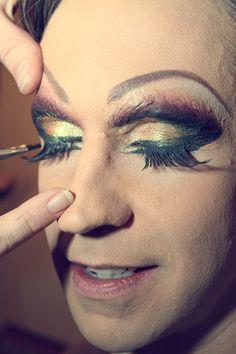 How To Apply Drag Queen Makeup.