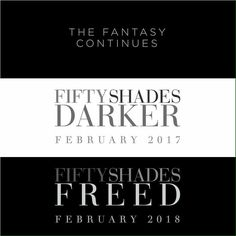 Fifty Shades Darker / Fifty Shades Freed - Release Dates