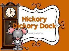 Hickory Ory Dock Nursery Rhyme