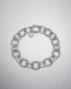 Large Oval Link Chain Bracelet by David Yurman at Neiman Marcus.