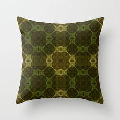 Pseudo Pompous Retro - N.Gogal Quatre Throw Pillow by Pseudo Pompous  - $20.00