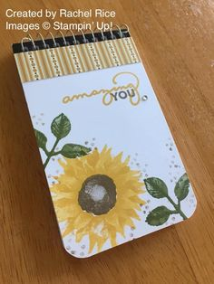 Twenty-Five Stampin' Up! Projects by Amy's Inkin' Krew Featured Stampers – Stamp With Amy K Composition Notebook Covers, Beautiful Christmas Cards, Get Well Cards, Fall Cards, Pretty Cards, Halloween Cards, Stamping Up, Flower Cards, Craft Fairs