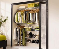 Photo: Rubbermaid | thisoldhouse.com | from Read This Before You Redo Your Bedroom Closet