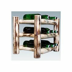 Montana Woodworks MWWRC Counterop Wine Rack, Ready to Finish by Montana Woodworks. $50.99. Finish:Ready to Finish 9 bottle capacity rackWill last for generations to comeComes fully assembled20-year limited warranty included at no additional charge. Save 45%!
