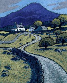Chris Neale Studio - signed limited edition art prints and original artwork Landscape Art, Landscape Paintings, Landscapes, Naive Art, Pastel Art, Art Google, Quilting, Art Images, Folk Art