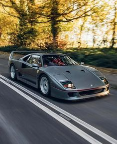 Ferrari F40, Maserati, New Ferrari, Bugatti, Lamborghini, Old Muscle Cars, Best Muscle Cars, Chevrolet Silverado, Classic Sports Cars